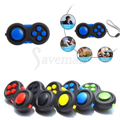 Fidget Hand Shank Pad Handle Autism ADHD Anixety Relieves Stress Focus Toys 1pc