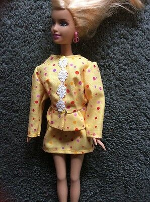 "Polka Dot Suit for 11 1/2"" Barbie fashion doll"