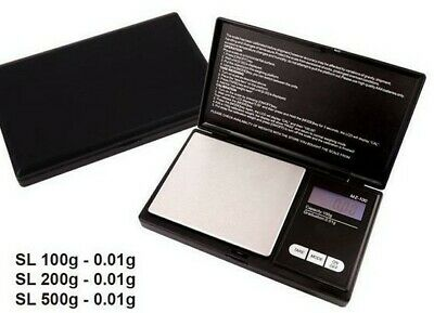 Pocket Digital Scales 0.1G - 500G Weighing Gold Jewellery Kitchen herbs LCD