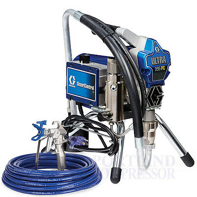 NEW Graco Ultra 395 PC Airless Paint Sprayer NEWEST 2017 Stand model - 17C314