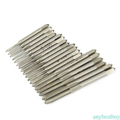 Mini HSS Tap and Die Wire Tapping Wrench Tool Set Thread M1 to M2.5 Screw set