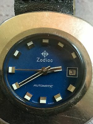 Damenuhr Zodiac Automatik - LTD 34 Space Age Watsch