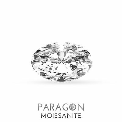Paragon Moissanite Loose Oval Cut Best Diamond + C&C, Alternative - Buy Now !