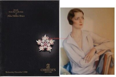 Christie's NY 1988 catalog Jewels from AILSA MELLON BRUCE Collection Full Color