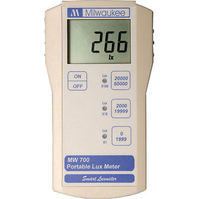 Milwaukee MW700 Lux Lightmeter with Waterproof Probe