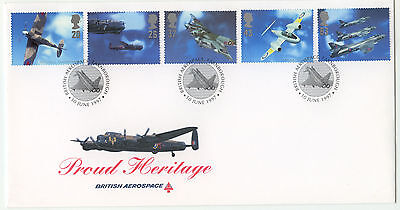 1997 Architects of the Air Bae/Royal Mail Official FDC