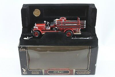 1927 Seagrave Die Cast Metal Toy Truck by Road Series Signature Series No. 20128