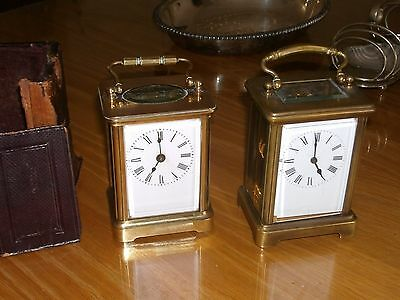 two antigue french clocks