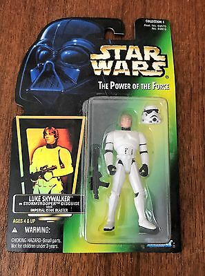 Star Wars Luke Skywalker In Stormstrooper Disguise Kenner 1996