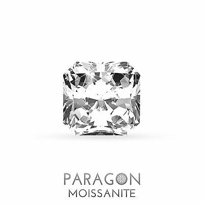 Paragon Moissanite Loose Radiant Cut Best Diamond Alternative - Buy Now !