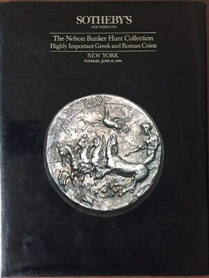 The Nelson Bunker Hunt Collection; Highly Important Greek and Roman Coins