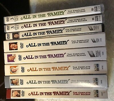 All in the Family Seasons 1-8 DVD sets (24 Discs total)