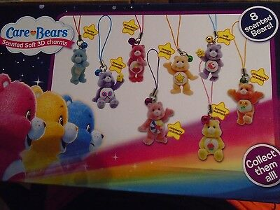Care Bears - Scented Soft 3D Charms - New Sealed Pack