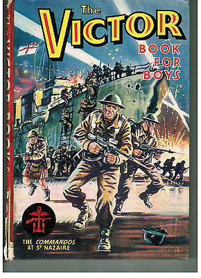VICTOR BOOK FOR BOYS 1964 First one! Victor comic