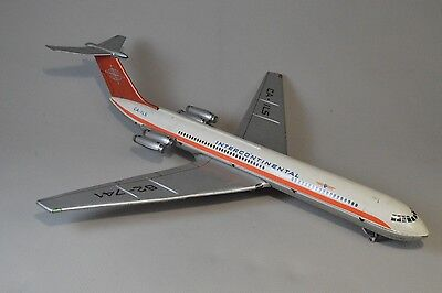 IL-62 INTERCONTINENTAL Tin Toy Aircraft Froiction East German DDR 1970s