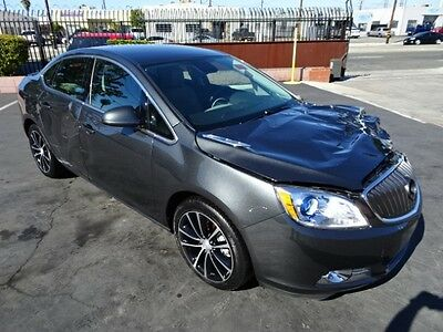 2017 Buick Verano Sport Touring 2017 Buick Verano Sport Touring Salvage Wrecked Repairable! Priced To Sell! L@@K