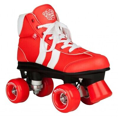 Rookie Retro Quad Roller Skates Red White RRP £65 - SAVE £20