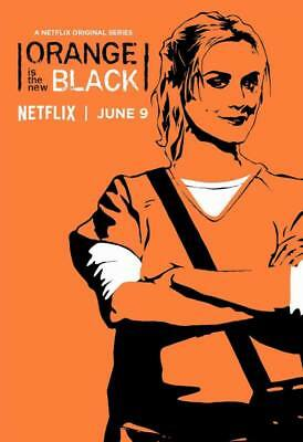 "12106 Hot Movie TV Shows - Orange Is the New Black Season 5 7 14""x20"" Poster"