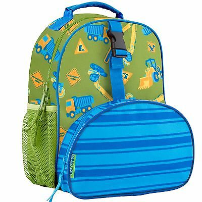 Stephen Joseph Boys All Over Print Mini Construction Backpack - Preschool Bag