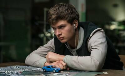 """11862 Hot Movie TV Shows - Baby Driver 2017 4 39""""x24"""" Poster"""