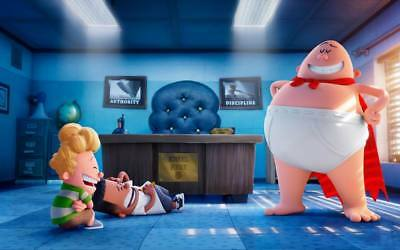 "10777 Hot Movie TV Shows - Captain Underpants 2017 1 22""x14"" Poster"