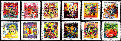France 2013 Greetings Complete Set of Stamps P Used S/A