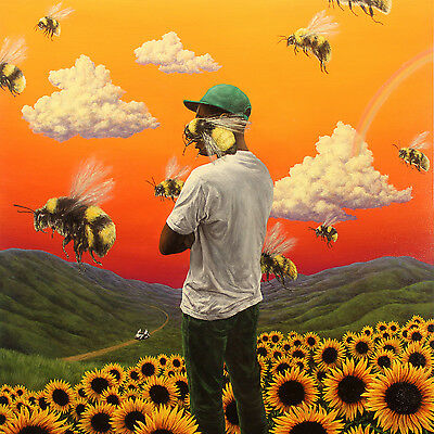 "Tyler the Creator Flower Boy Rap Music Album Cover Poster 12x12"" 24x24"" 32x32"""