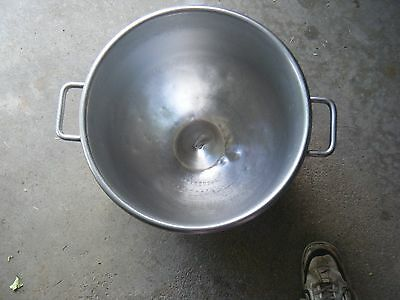 Genuine Hobart VML HP 40  40 Qt. Stainless Steel Commercial Mixing Bowl.
