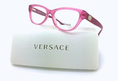 Brand New Authentic Versace Frame MOD 3204 5121 Pink 51-15-140