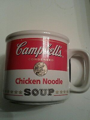 campbells condenced soup chicken noodle mug