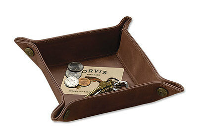 Orvis Leather Dresser Tray With Brass Shots Shell List $59 New