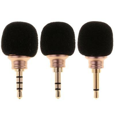 Mini Stereo Microphone 3.5mm Mic for Laptop Notebook Mobile Smart Phone