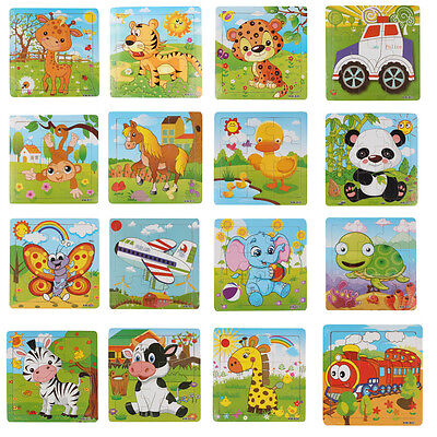 Wooden Kids Jigsaw Toys For Children Education And Learning Puzzles Toys
