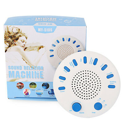Sleep Solutions Portable Relaxing Sleep Aid Machine 9 High Quality Nature Sounds