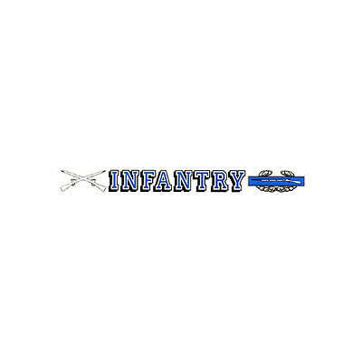 US Army Combat Infantry Car Decal