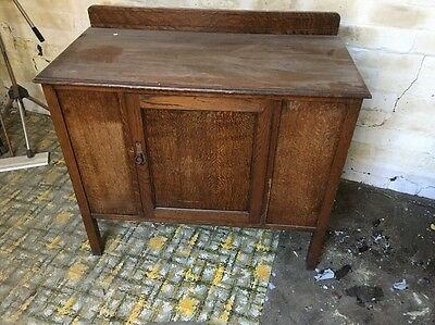 Small Vintage Retro Antique Cupboard  Ideal For Shabby Chic