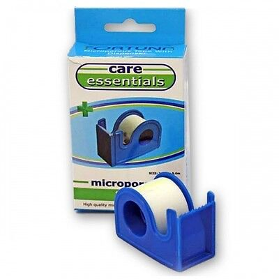 Fortuna Microporous Tape with Dispenser (2.5cm x 5m)