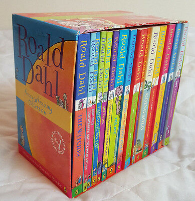 Roald Dahl 15 Stories Phizz Whizzing Collection Book Box Set