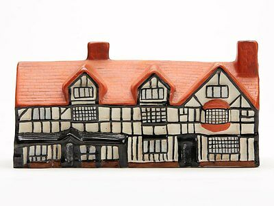 Antique Arcadian Porcelain Shakespeare's House Early 20Th C