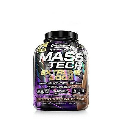 MASS TECH EXTREME 3.2Kg Chocolate MUSCLETECH Proteina carbohidratos creatina