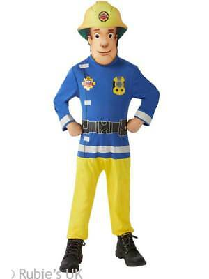 Fireman Sam Boys Fancy Dress Firefighter Uniform Book Week Kids Costume Outfit