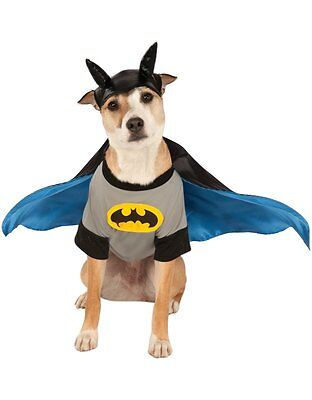 "Batman Pet Dog Costume, Medium, Neck to Tail 15"", Chest 20"""