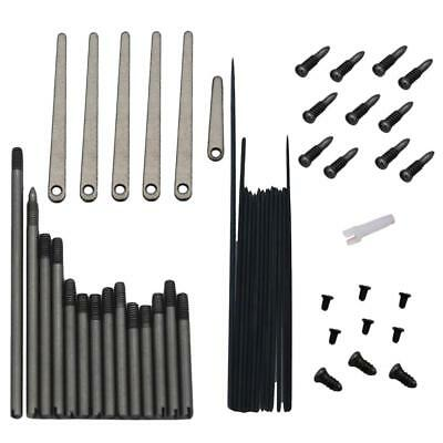 7 Sets Clarinet Repair Spindle+Screw+Spring Leaf w/ Screws+Spring Needles