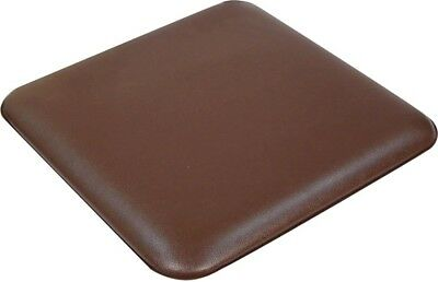 Aidapt Spare Replacement Cushioned Padded Seat for Stacking Commode Chair Brown