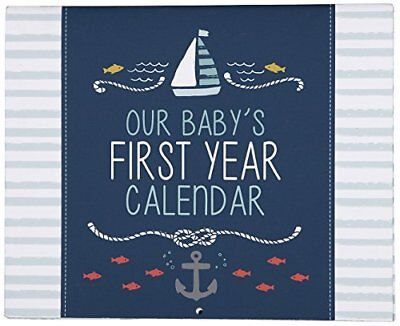 C.R. Gibson Baby's First Year Calendar, By Carter's Stickers Provided