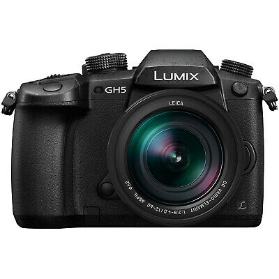 Panasonic Lumix DC-GH5 Wi-Fi 4K HD Digital Camera & 12-60mm f/2.8-4.0 Lens