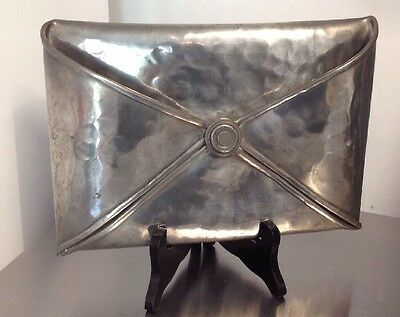 VERY RARE Jean Goardere Etain Fait Main French Art Nouveau style pewter HOLDER