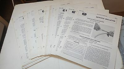HUGE Lot of John Deere Service Bulletins, 1960's, Lot A