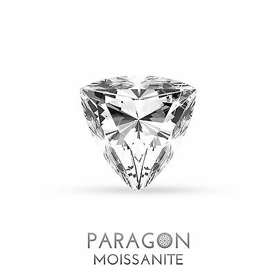 Paragon Moissanite Loose Trillion Cut Best Diamond + C&C Alternative - Buy Now !
