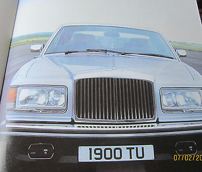 Silver Spirit And Bentley Mulsanne- Rolls Royce-Deluxe Large 16 Page Booklet